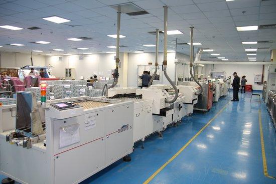 团员参观方正科技重庆pcb产业园